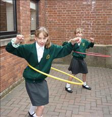 Hoola hoop fun